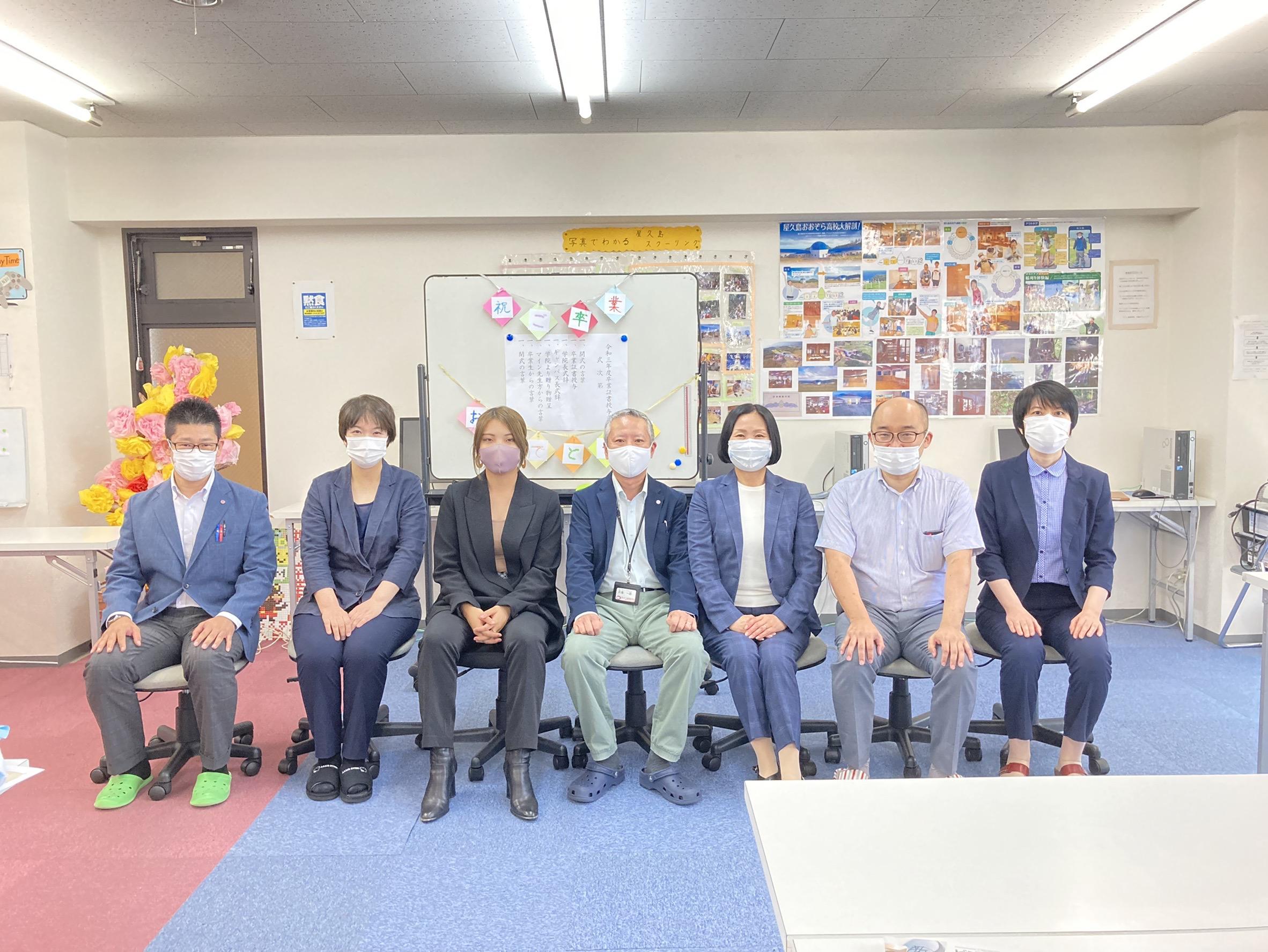 マイン秋の卒業式@久留米キャンパス