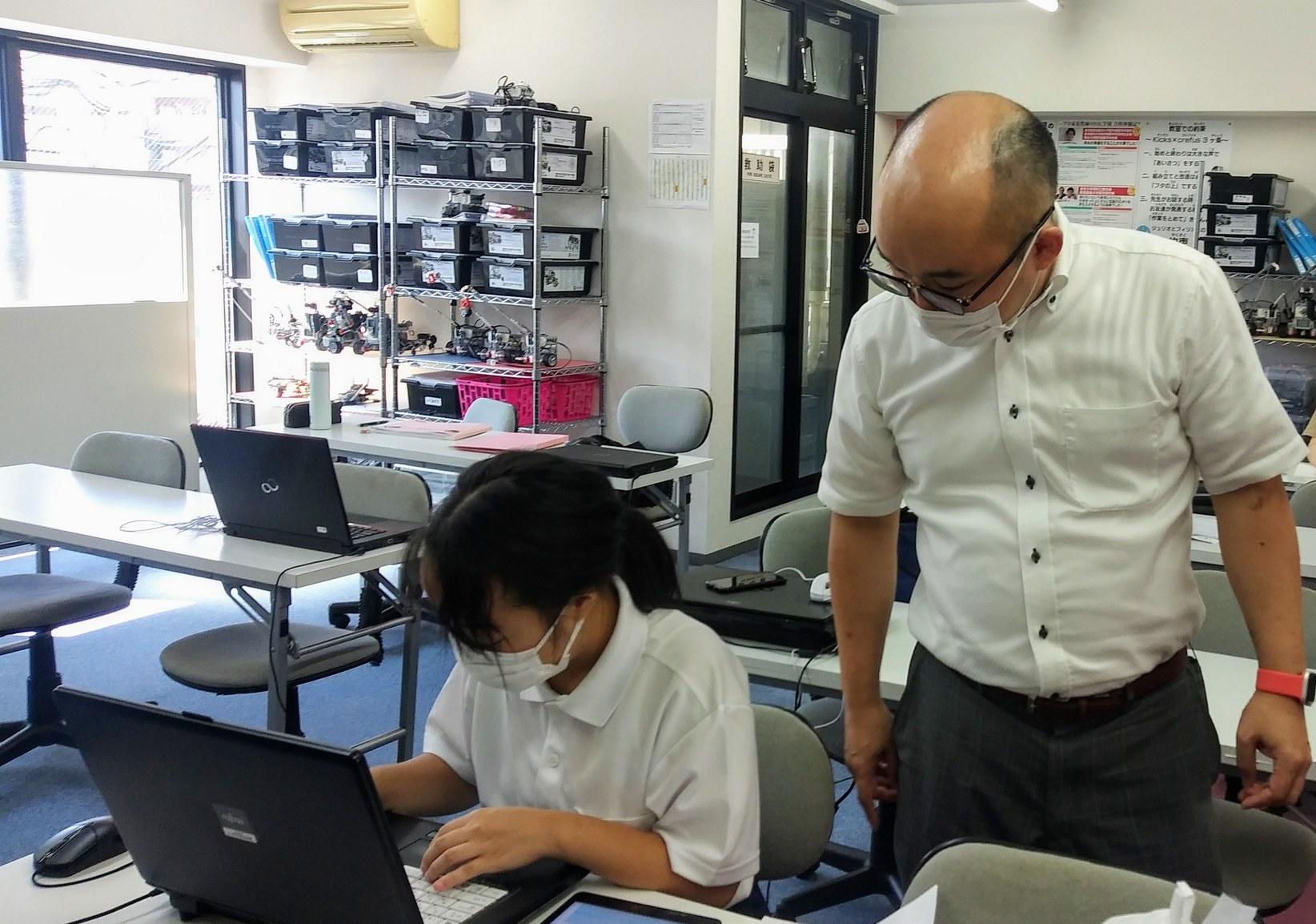 プログラミングをやってみた@久留米キャンパス